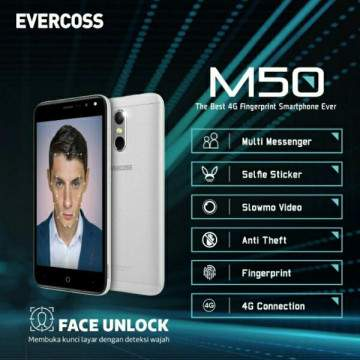 Evercoss Rilis Hp Android Murah dengan Fitur Face Unlock