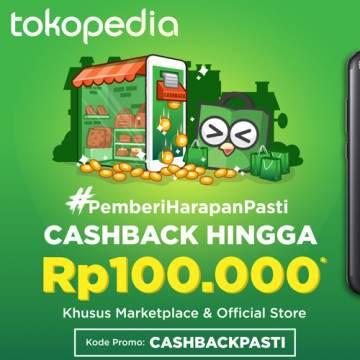 Beli Smartphone Murah Mulai 1,6 Jutaan di Tokopedia, Bisa Dapat Cashback 100 Ribu!