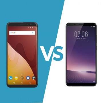 Wiko View Prime VS Vivo V7+, Adu Smartphone Bezeless dengan Fitur Selfie Terbaik