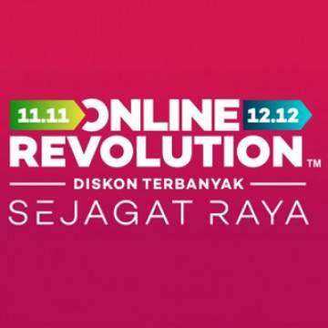 Daftar Promo Harbolnas 2017 Lengkap di Online Revolution 12.12 Lazada