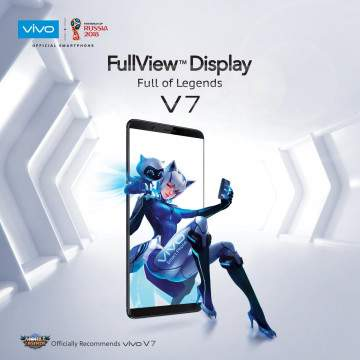 Vivo V7 Mobile Legends Edition Dirilis dengan Mode Game Khusus