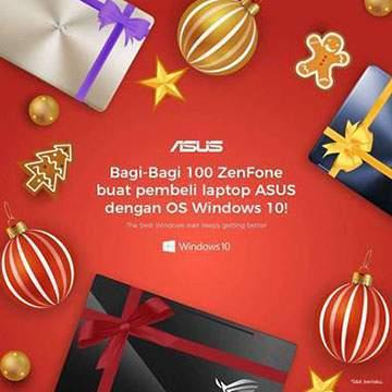 Beli Laptop ASUS Windows 10 Bisa Dapat ZenFone 3 Max!