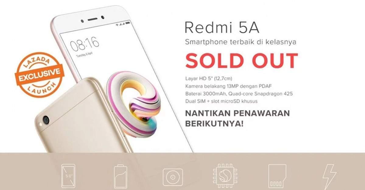 Flash sale Xiaomi Redmi 5a