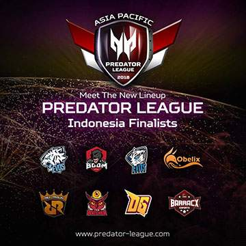 APAC Predator League 2018 Indonesia, 4 Team Semi Pro vs 4 Team Pro