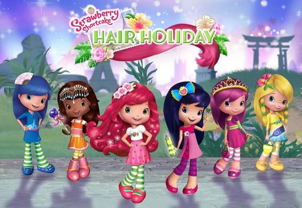 strawberry shortcake hair