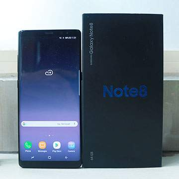 Review Samsung Galaxy Note 8 : Pakai Prosesor Exynos Terbaru dan Dual Kamera