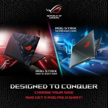 ASUS ROG Strix Dipecah Jadi 3 Varian Berdasarkan Genre Game