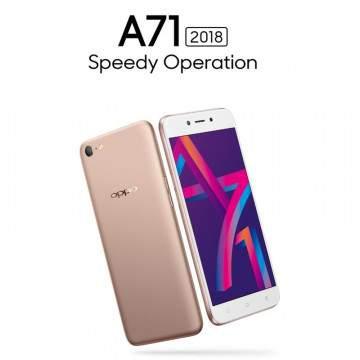 OPPO A71 2018 Dirilis dengan Snapdragon 450 dan Fitur AI Beauty