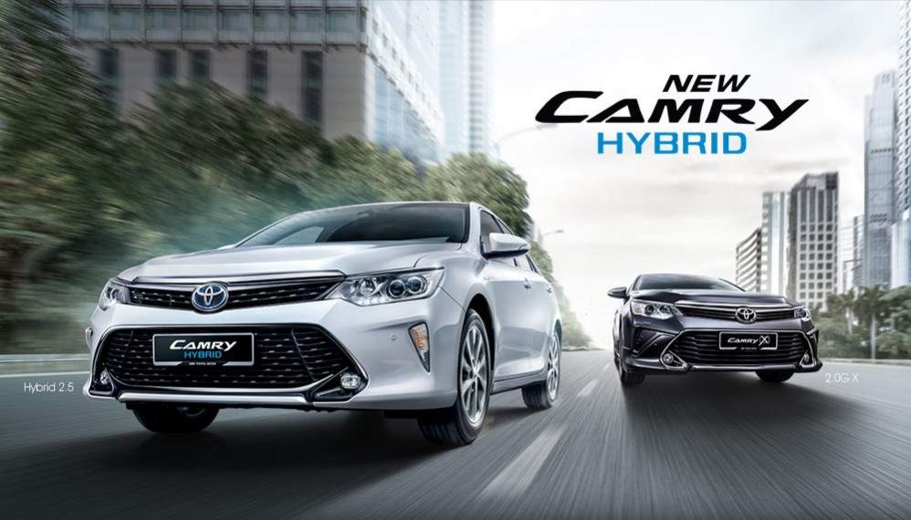Toyota All New Camry 2.5 Hybrid