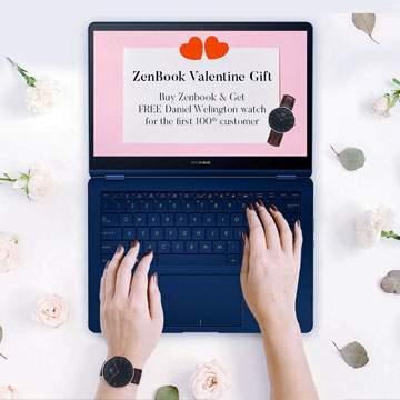 Beli Laptop ASUS Gratis Jam Tangan Senilai Rp3,5 Juta