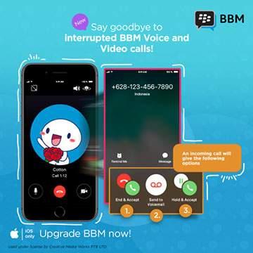 Update Aplikasi BBM di Android dan iOS Ga Bikin Hp Lemot