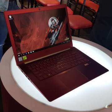 Swift 3 Iron Man Edition, Laptop Baru Acer berfitur Fingerprint Reader Otomatis