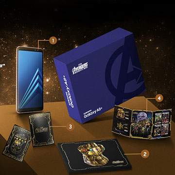 Samsung Galaxy A8+ Special Edition Avenger: Infinity War