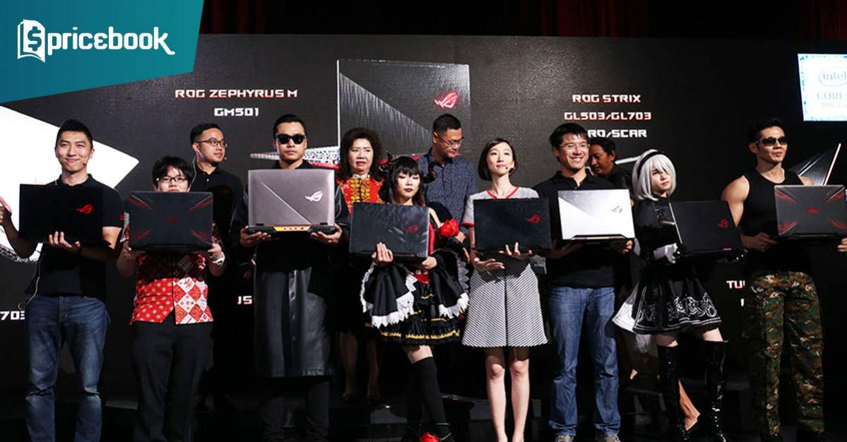 Laptop gaming asus rog terbaru