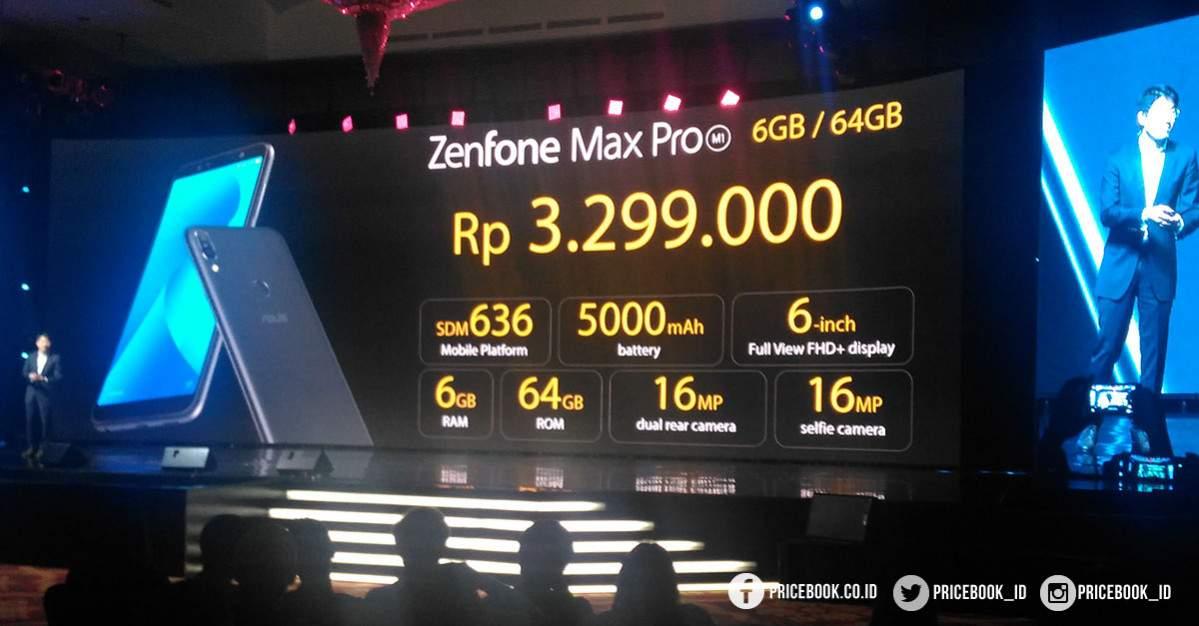 Zenfone MAx Pro 6GB