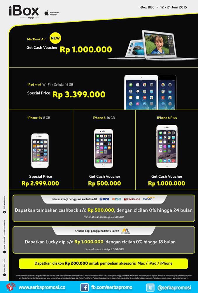 Promo iBox BEC Bandung - Pricebook Forum