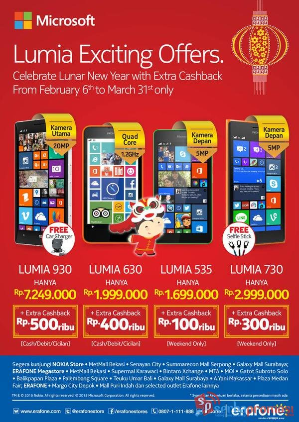 Promo Cashback Lumia Di Erafone