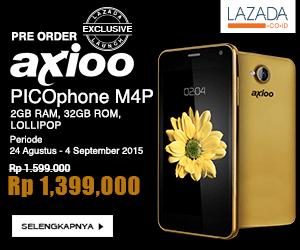 Pre Order Axio Picophone M4P Di LAZADA Cuma 1 Jutaan Gaes