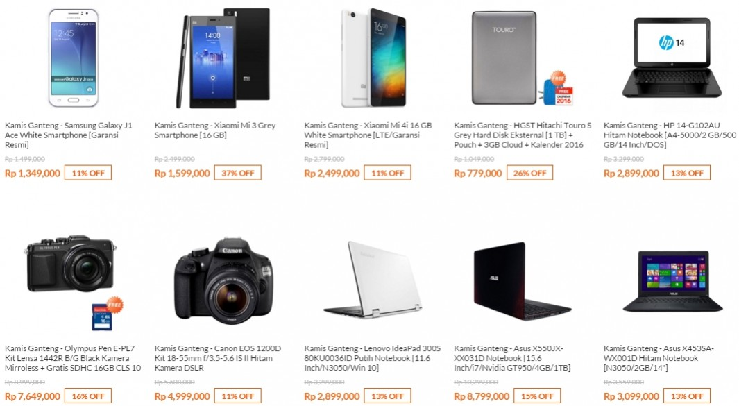 Kamis Ganteng Gans Hp Laptop Murah Banyak Diskon Dari Blibli Pricebook Forum