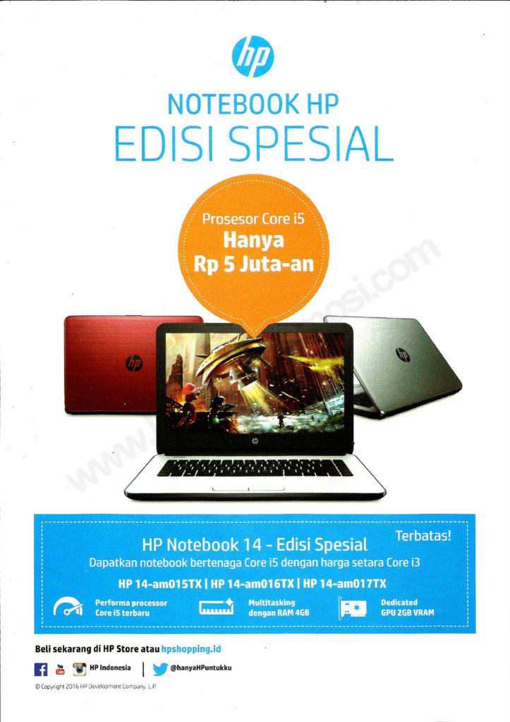 Promo HP Selama Indocomtech 2016