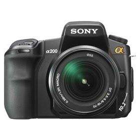 DSLR & Mirrorless Sony A-mount DSLR-A200K