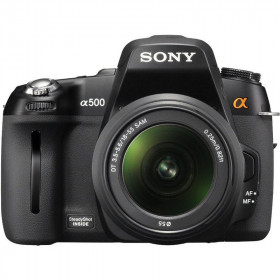 DSLR Sony A-mount DSLR-A500