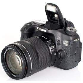 DSLR Canon EOS 70D Kit 18-135mm Non WiFi