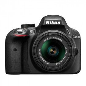 DSLR Nikon D3300 Kit 18-55mm