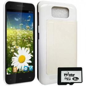 Handphone HP Polytron Wizard Quadra V5 W7550