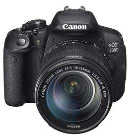 DSLR Canon EOS 700D Kit EF 18-135mm