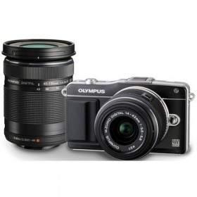 Mirrorless Olympus PEN E-PL3 Kit 14-42mm + 40-150mm