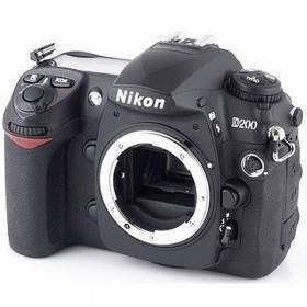 DSLR Nikon D200 Body