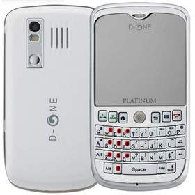 Feature Phone D-ONE DG558 platinum