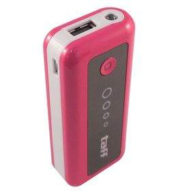 Taff MP5 5200mAh Pink with White Side