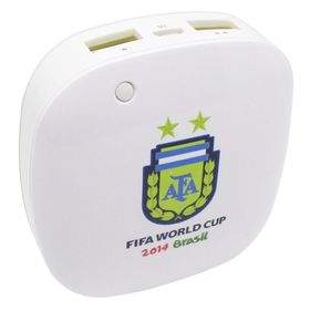 Taff MP60 6000mAh 2014 Brazil World Cup 32 Team Argentina
