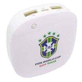 Power Bank Taff MP60 6000mAh 2014 Brazil World Cup 32 Team Brazil