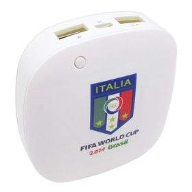 Power Bank Taff MP60 6000mAh 2014 Brazil World Cup 32 Team Italy