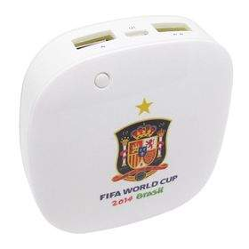 Taff MP60 6000mAh 2014 Brazil World Cup 32 Team Spain