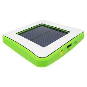 Taff Square Solar Charger 1800mAh Green