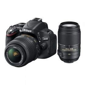 DSLR Nikon D5100 Kit 18-55mm + 55-300mm