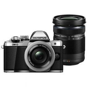 Mirrorless Olympus OM-D E-M10 Kit 14-42mm + 40-150mm