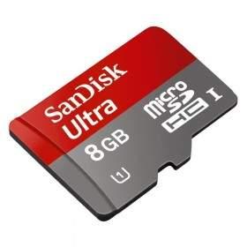 SanDisk Ultra microSDHC Class10 8GB 48MB / s