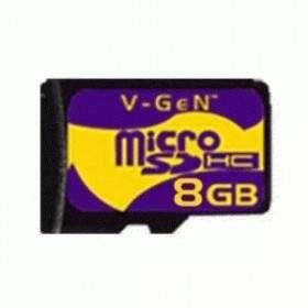 V-Gen microSDHC 8GB Class 4