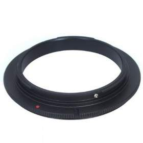 Filter Lensa Kamera OpticPro Reverse Adapter Canon 62mm