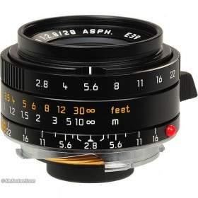 Lensa Kamera LEICA Elmarit M 28mm