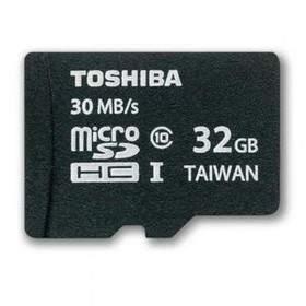 Toshiba microSDHC Class 10 30MB/s - 32GB