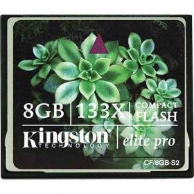 Kingston CompactFlash 133x 8GB
