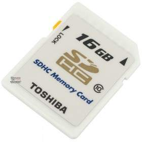 Kartu Memori Toshiba SDHC 16GB Class 10