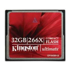 Memory Card / Kartu Memori Kingston CompactFlash Ultimate 266x 32GB