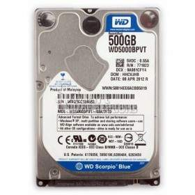 Hard Drive Internal Western Digital Scorpio Blue WD5000BPVT 500GB